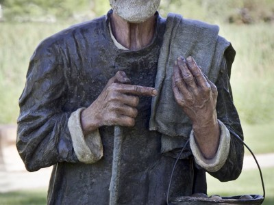 Old Man Statue